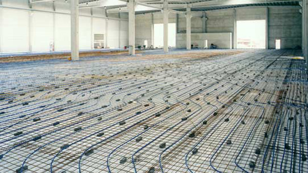 Anti Heave Underfloor Heating