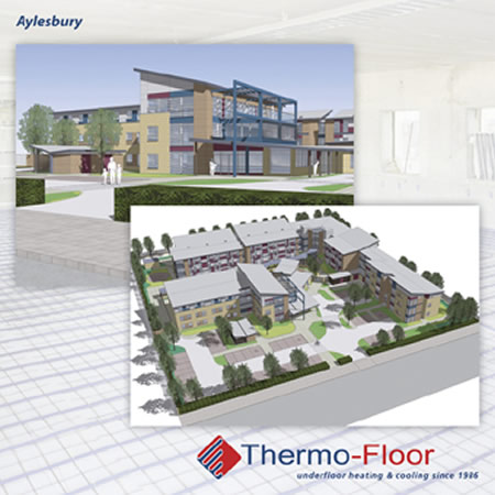 Thermo-Floor Complete The Final Phase At Aylesbury New Lodge