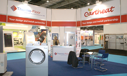 Thermo-Floor UK At Ecobuild 2012, Your Design And Install Partnership For Hot Water And Heating Systems