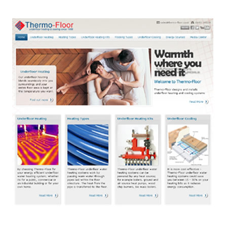 New Website Launched Offering Complete Information On Underfloor Heating, Underfloor Cooling And Energy Sources